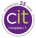 Complete IT logo - celebrating 25 years