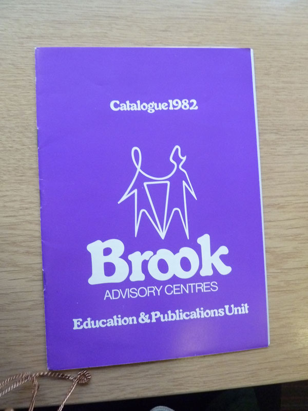 A Brook publications catalogue from 1982